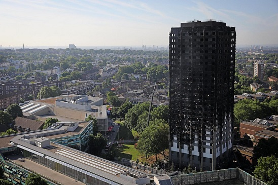Grenfell after the fire